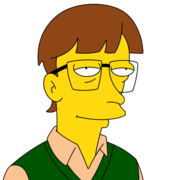 Bill Gates simpsons character