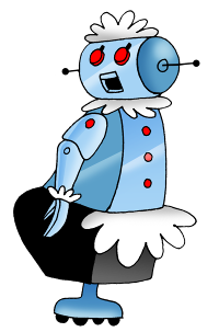 The Jetson's robot, Rosie
